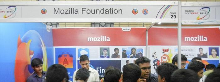 Mozilla Booth @ BASIS Digital World2015