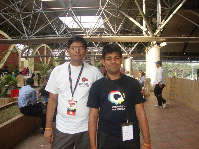 Thanks to MAK bhai for the tshirt