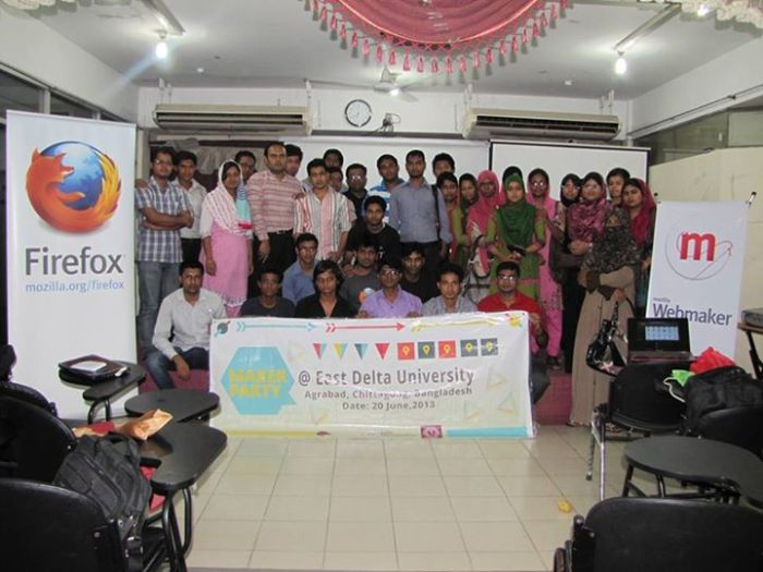 First event Maker Party in Bangladesh, back in 2013